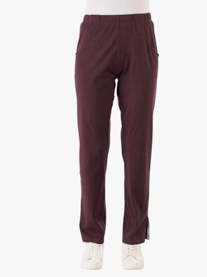 Športové nohavice - baklažánová