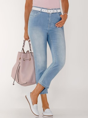7/8-Jeans - blue-bleached