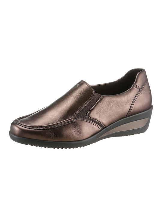 ARA Slipper - goldfarben