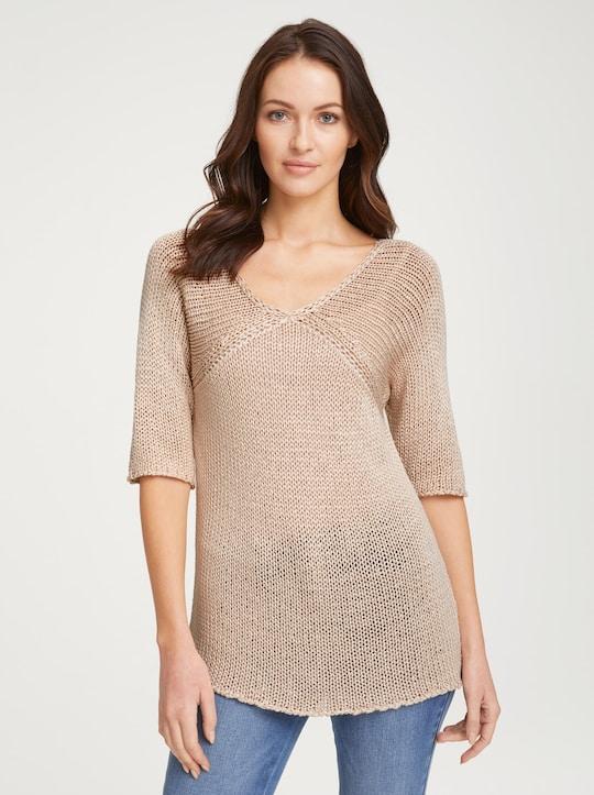 Linea Tesini Pullover - sand