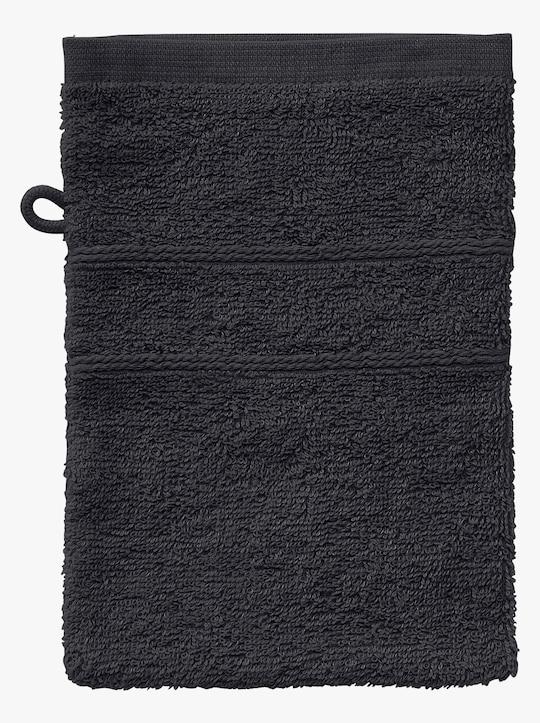 wäschepur 5-dlg. badstof-voordeelset - zwart