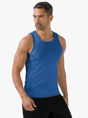 Herren-Sportshirt - royalblau