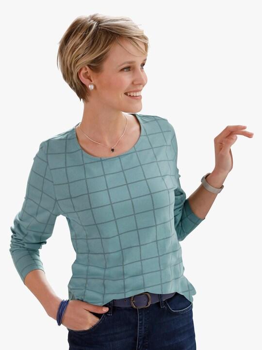 Tričko - nefritová-kostka