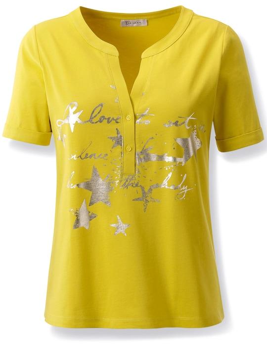 Druck-Shirt - limone-bedruckt
