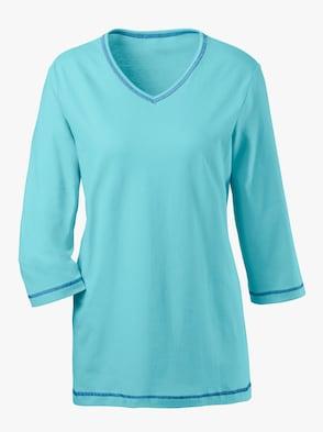 Schlafanzug-Shirt - türkis