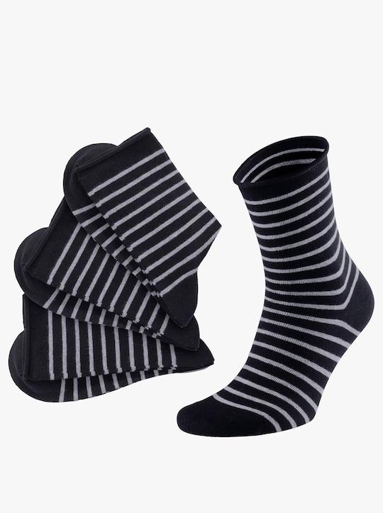 wäschepur Dámské ponožky - černá