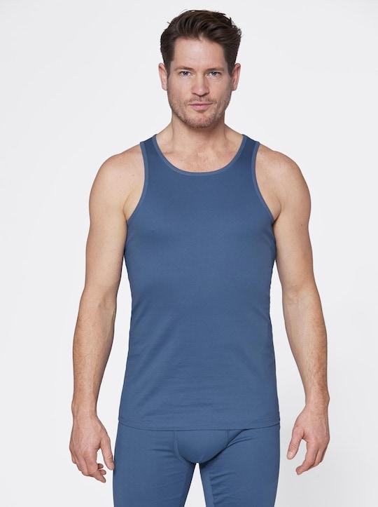 wäschepur Unterhemd - dunkelblau