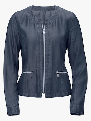 Collection L Blazer - blau