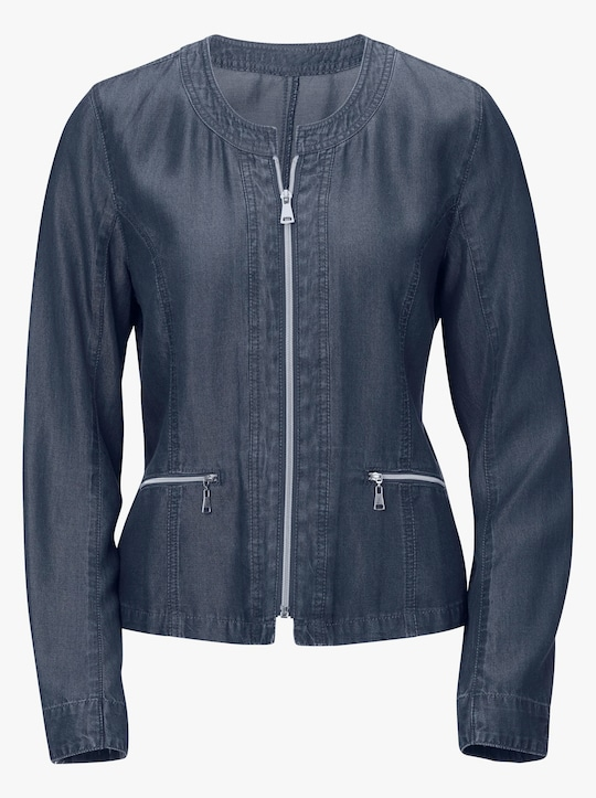 Collection L Blazer - blau