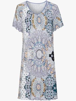 Sleepshirt - lavendel-bedruckt