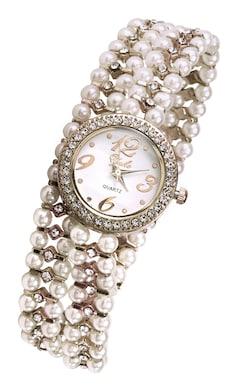 heine Armbanduhr - weiß