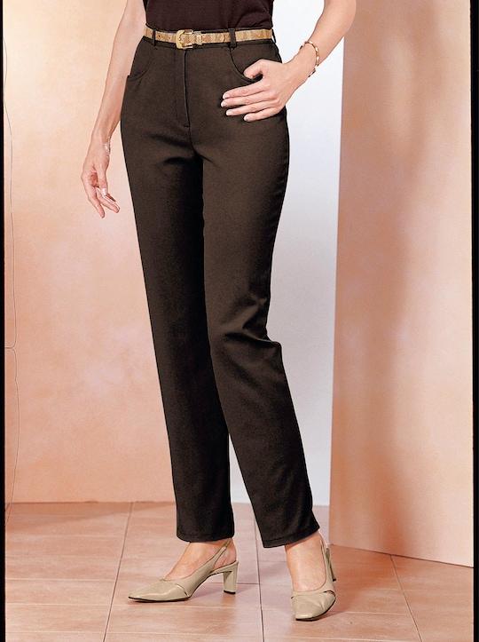 Jeans - schokobraun