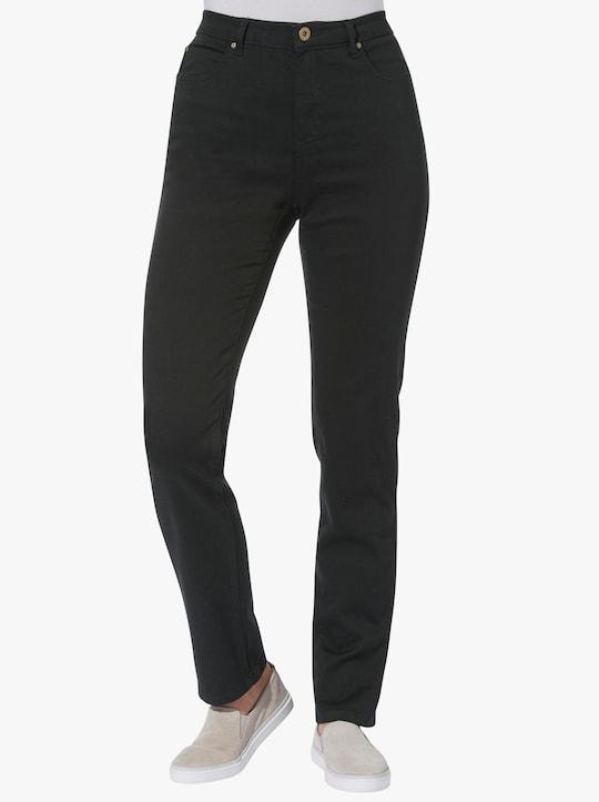 Strečové kalhoty - černá
