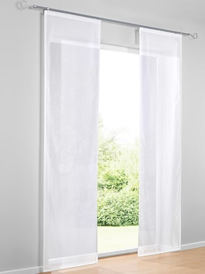 heine home Schiebevorhang - weiß