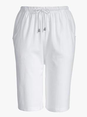 Freizeitbermudas - weiß