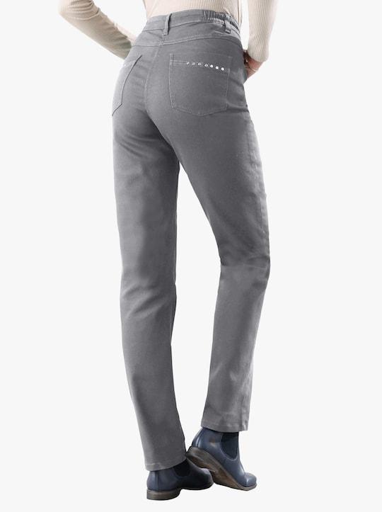 Stretchbyxor - grå