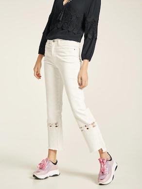 Rick Cardona Jeans - offwhite