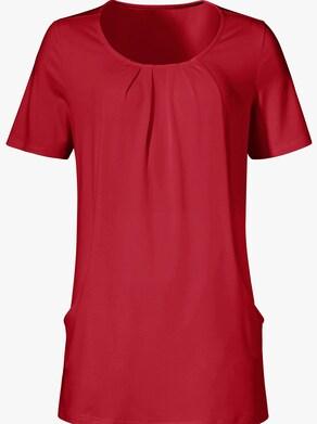 Dlouhé tričko - červená