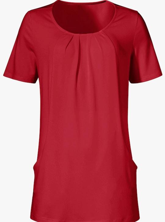 Lang shirt - rood