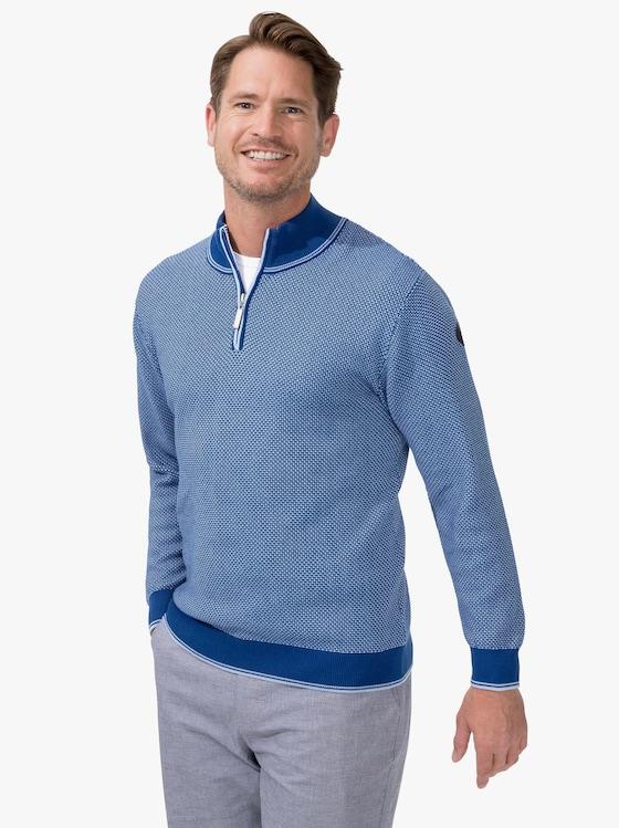 Marco Donati Pullover - blau
