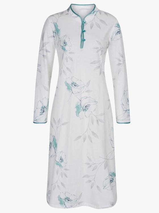 Arabella Nachthemd - ecru-mint