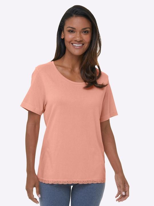 wäschepur Schlafanzug-Shirt - melba