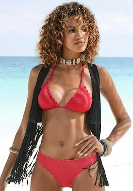 LASCANA Triangel-Bikini-Top - rot