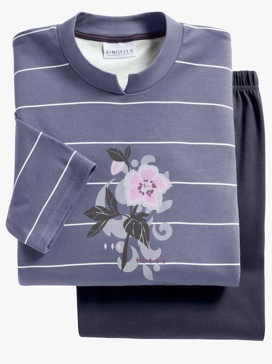 Ringella Schlafanzug - blaugrau