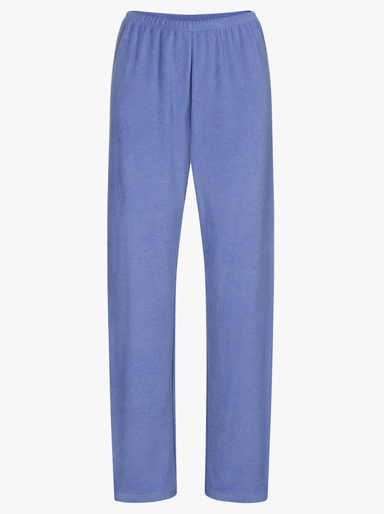 Schlafanzug - bleu-geringelt