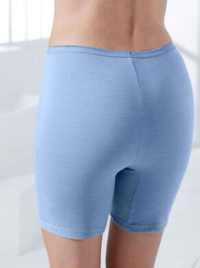 wäschepur Pants - bleu-meliert