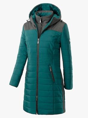 Mantel - dunkelgrün