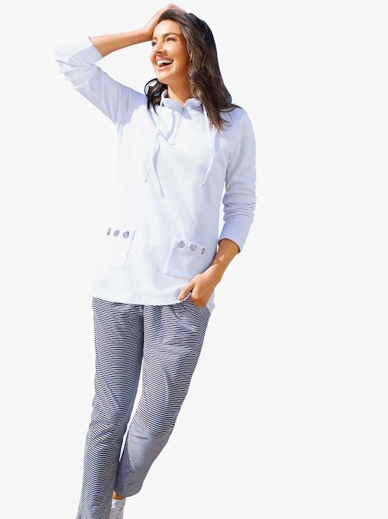Collection L Sweatshirt - weiß