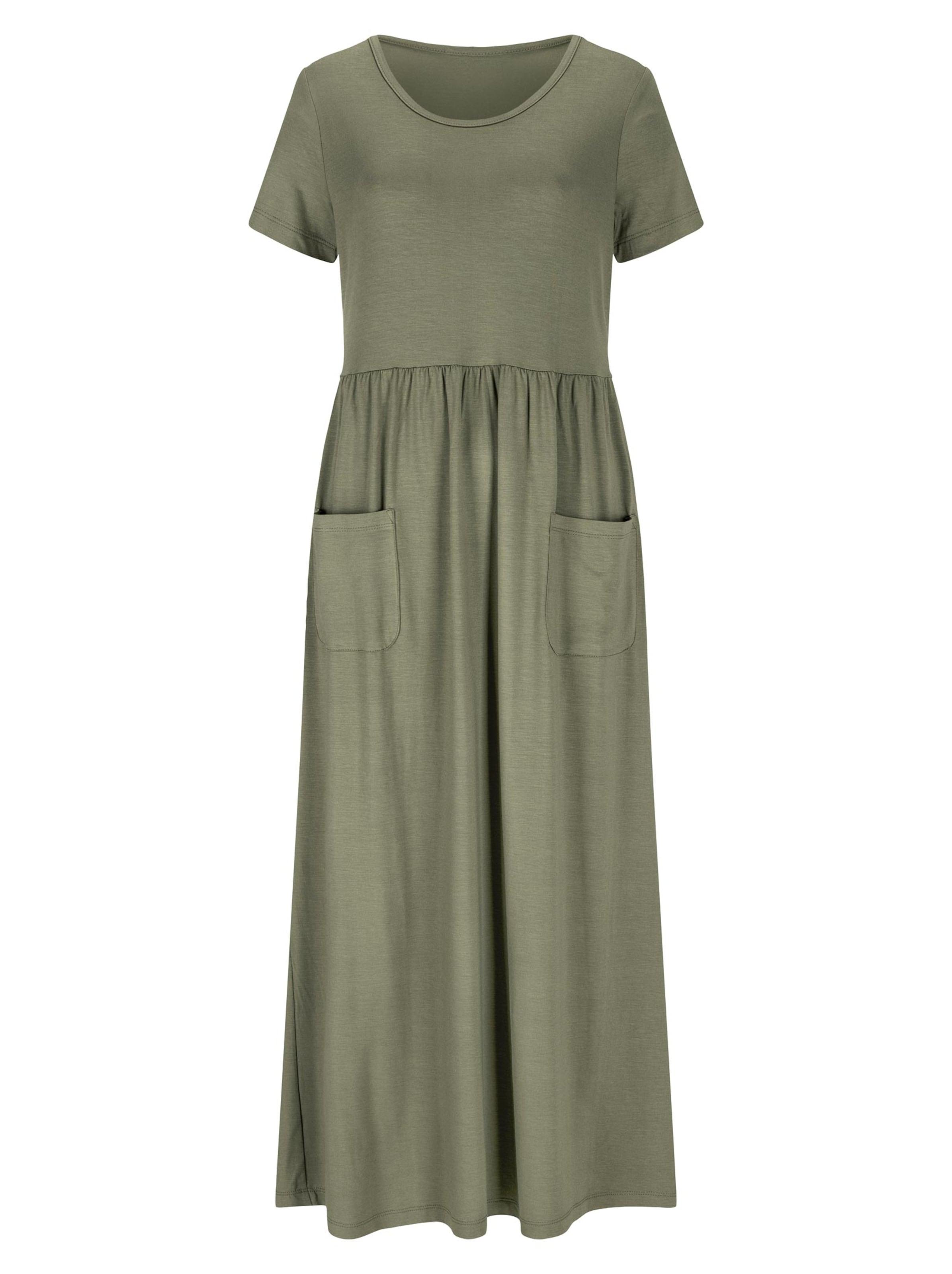 witt weiden -  Damen Jersey-Kleid khaki