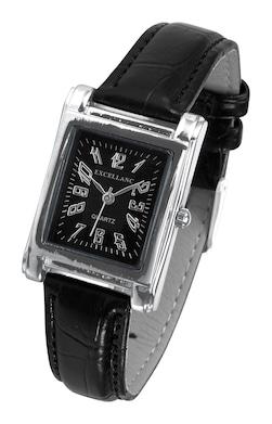 heine Armbanduhr - schwarz
