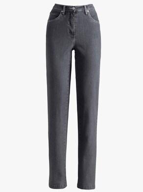 Collection L Jeans - antracit-denim