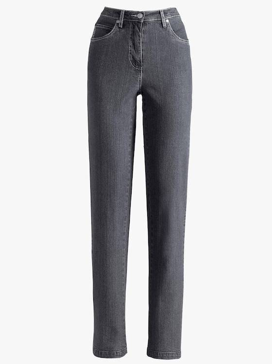 Jeans - anthrazit-denim