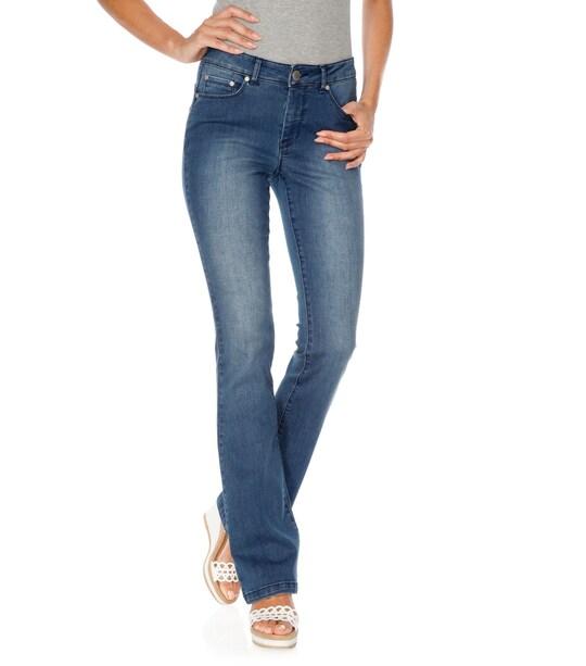 Linea Tesini 'Buik weg'-jeans - blue denim
