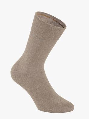 Socken - sand-meliert