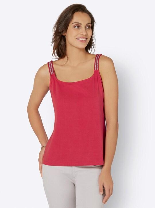 Shirttop - erdbeere