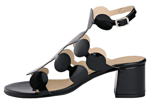 heine Sandalette - schwarz