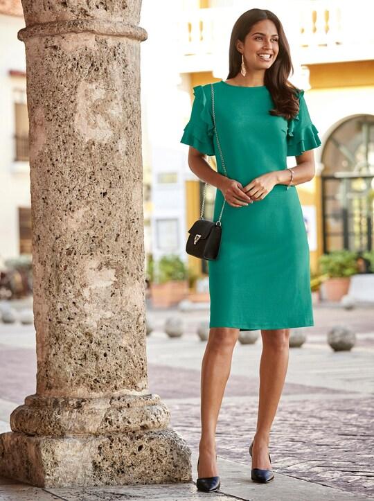 Kleid - smaragd