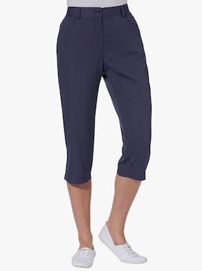 Capri-legging - nachtblauw