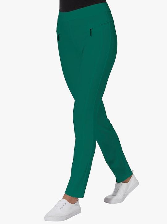 Kalhoty - tmavězelená