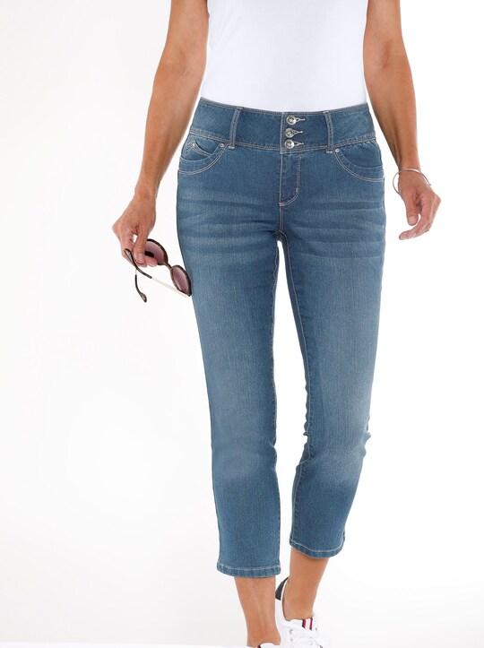 7/8-Jeans - blue-bleached