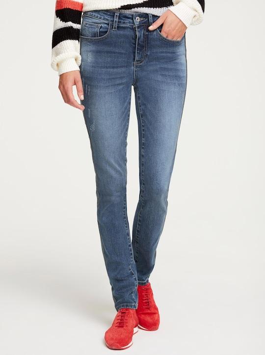 Rick Cardona Push-up-Jeans - blue stone