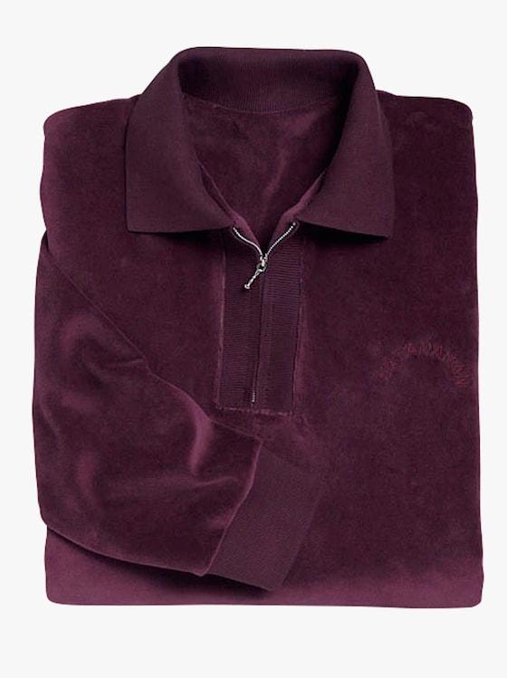 Sweatshirt - aubergine