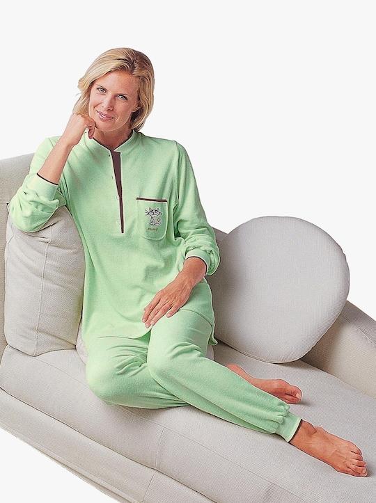 wäschepur Schlafanzug - mint