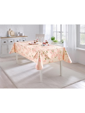 Tischdecke - rosé
