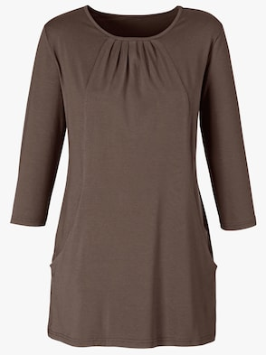 Longshirt - taupe
