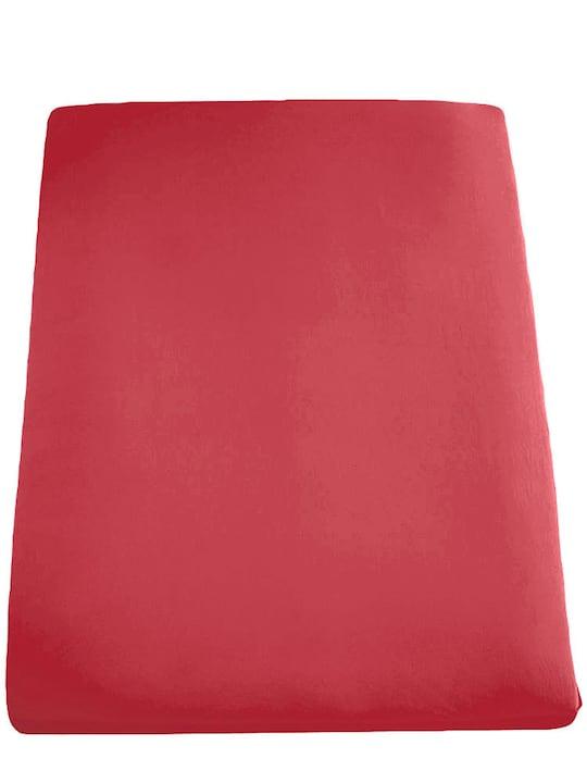 Formesse Spannbetttuch - rot